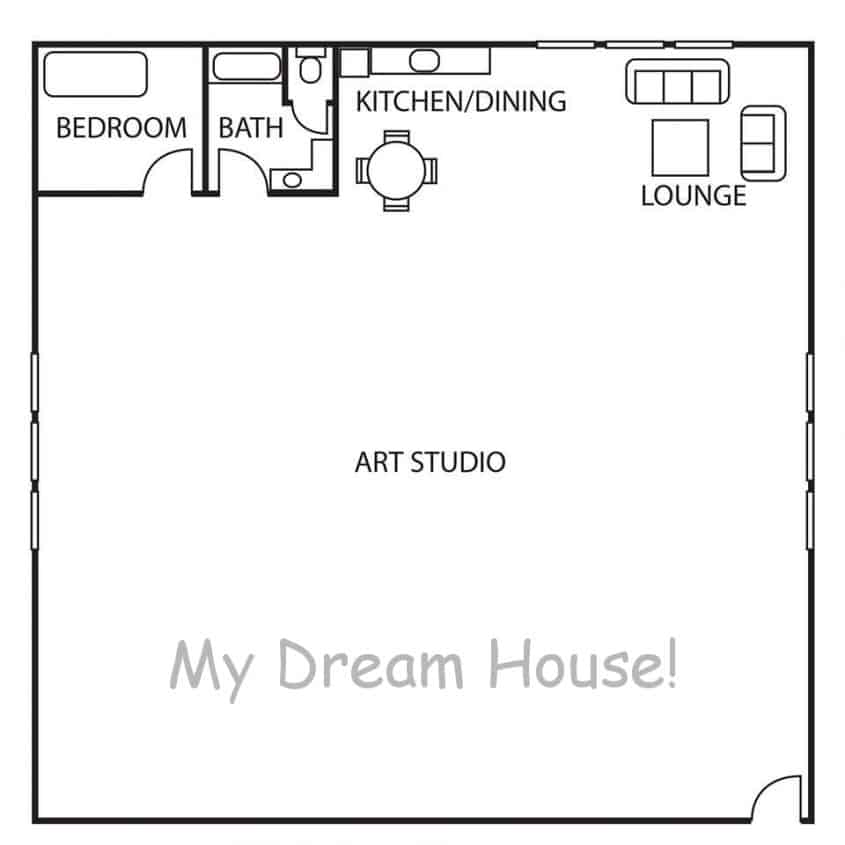 artists dream house