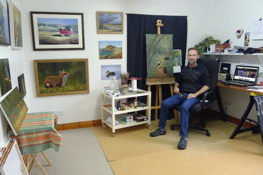Chris Chalk Art Studio