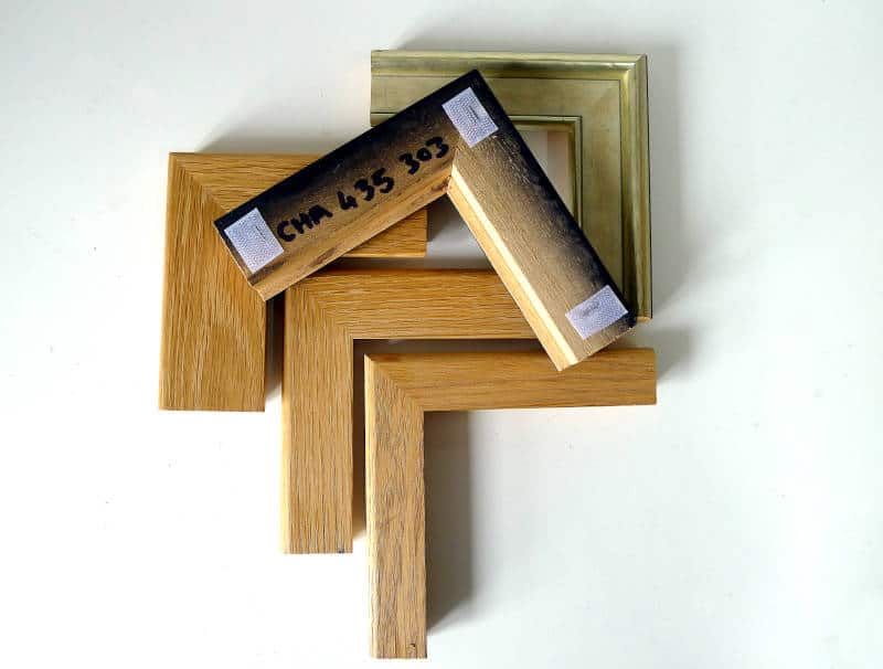 Frame smamples for picture framing